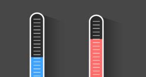 Termometer og Varmepumpe