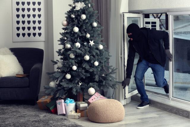 indbrud i julen